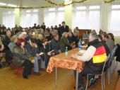 Общественные слушания по проекту застройки участка 11,9 Га, расположенного в р-не юго-восточной части озера Вероярви (п.Токсово, 19.10.2007г.)