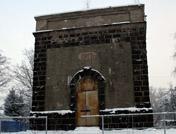В ближайшие месяцы может начаться реконструкция каменной водонапорной башни 1917 года постройки, расположенной на Привокзальной площади в Токсово (10.03.2016) © www.toksov.spb.ru