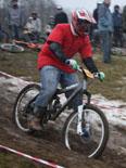 В Токсово прошли велосоревнования в дисциплине «даунхилл» (30.11.2008)