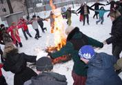 Финская Масленица - 2009 в Токсово (21.02.2009 г.)
