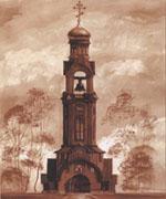 Из Воронежа в Токсово доставлен большой колокол для строящегося православного храма в честь святого Игоря Черниговского, прошел молебен
