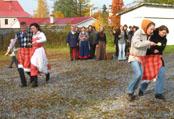 Празднование Дня Ингрии в Токсово (04.10.2008)