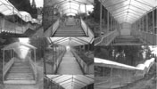 Токсово, каскадная лестница в «Долину Уюта»