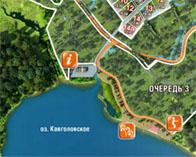 Северному берегу Курголовского озера угрожает крупная застройка (апрель 2015)