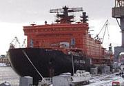 Ледокол « 50 лет Победы » отправился к Северному полюсу. На борту житель Токсово Виктор Кобзев