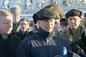 Сергей Иванов в д. Лехтуси (МО «Токсовское городское поселение» )