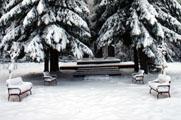 Токсово, ноябрь 2009. Завершен основной этап реконструкции воинского мемориала на горе (© www.toksov.spb.ru)