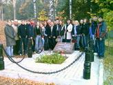 Возложение цветов к мемориалу военным летчикам ВОВ в Токсово