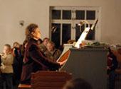 Концерт и презентация книги Ольги Минкиной (д.ф.н., музыкант, писатель и педагог) пройдут 11 октября 2008 г. в Токсово