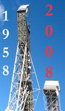 Реконструкция Большого Трамплина в поселке Токсово в преддверии 50-летия (1958-2008) культового спортивного сооружения (© www.toksov.spb.ru)