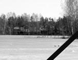 В Токсово произошла крупнейшая трагедия последних лет, около 18.40 провалились под лед Кривого озера и утонули трое детей из одной семьи в возрасте от 6 до 10 лет (06.04.2016)