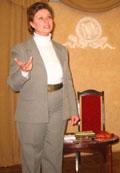 Творческий вечер члена ТОТХЛАМ`а Ольги Минкиной в здании Российской национальной библиотеки (23.01.2009 г.) (© www.toksov.spb.ru)