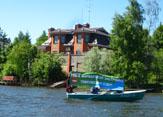 Пресс-тур вдоль перекрытых берегов токсовских озер